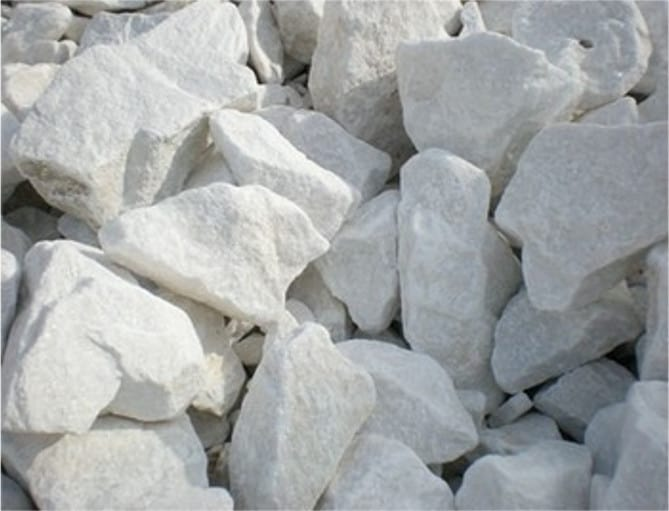 Piedra caliza blanca