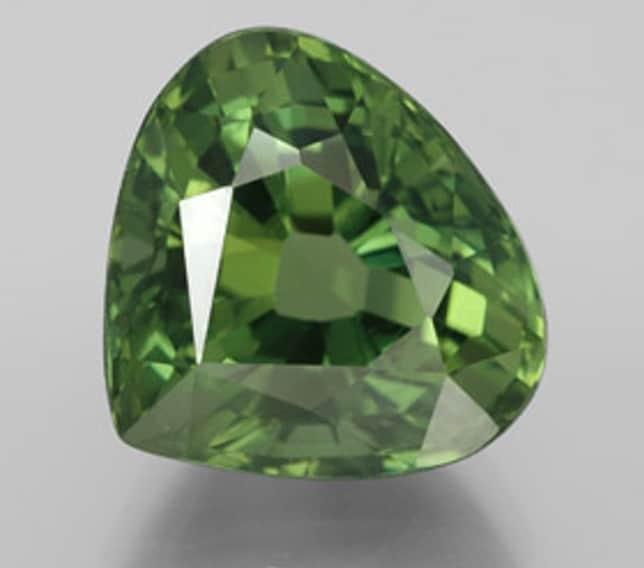 Apatito de color verde