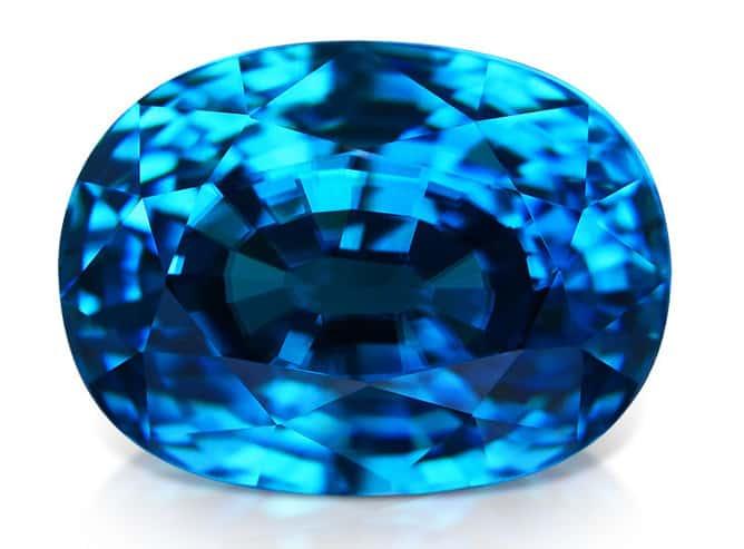 Piedra de Circonio azul