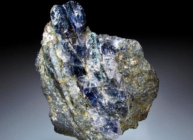 Piedra cordierita