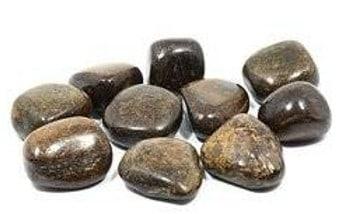 Piedras de mineral broncita