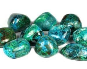 Piedras de crisocola azules para comprar